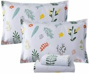 Fadfay Sheets Set Cal King Vintage Farmhouse Bedding French Country Bedding Set