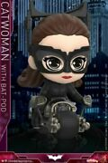 Hot Toys Cosb725 Catwoman With Batpod Cosbaby Mini Figure Toy Gift Collection