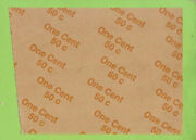 D22. Australian Coin Wrapper - 50 Cents Of One Cent Coins