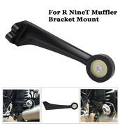 Motorcycle Black Cnc Cut Exhaust Pipe Bracket Mount Holder For Bmw R Nine T Usa