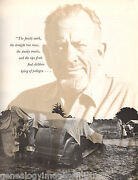 John Steinback Images Of The West + Pea Picker, Rundell, Young