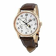 Secondhand Imported Goods Orient Classic Automatic White Dial Men's Watches