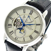 Orient Star Wristwatch Mens Rk-am0001s Automatic Winding White Black Domestic