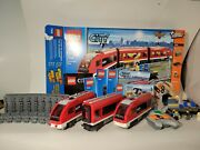 Lego City 7938 Passenger Train 100 Complete With Instructions And Box