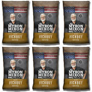 Myron Mixon Smokers Wood Bbq Pellets For Smoking And Grilling, Hickory 6 Pack