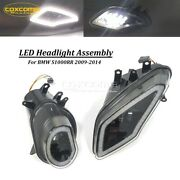 For Bmw 2009-2014 S1000rr Motorcycle Led Projection Headlight Assembly Headlamp