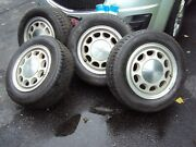 Ford Mustang Gt Thunderbird 1985-1993 15 Factory Oem Wheels With Tires Rim Set