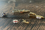 Vintage Twa Tie Clip And Pin Lot