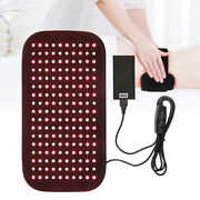 Red Light Therapy Infrared Led Lamp Wrap Pad Back Waist Pain Relief Equipment