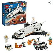 Lego City Space Mars Research Shuttle 60226 Space Shuttle Building Kit For Kids