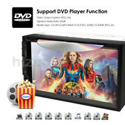 Double 2din In Dash Sony Cd Lens 7car Stereo Radio Cd Dvd Player Aux Bt Tv Rds