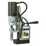 Euroboor Electrical Magnetic Drill Press W Electronic Speed Adjustment