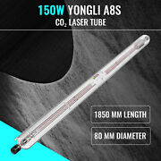 150w Replacement Laser Tube For Co2 Laser Cutter Borosilicate Glass 12000hr Life