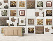 3d Square Wood Zhu2678 Wallpaper Wall Mural Removable Self-adhesive Zoe
