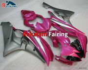 Abs Body Set For Yamaha Yzf-r6 06 07 Yzf R6 2006 2007 Pink Motorcycle Fairings
