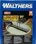 Walthers 933-2860 Ho Motorized 90' Turntable - 13-3/4 34.9cm Overall Diameter