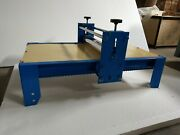 Ceramic Clay Plate Machine Slab Roller Heavy Duty Tablet Art Tool With Outrigger