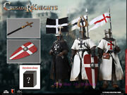 Coomodel Se058 1/6 Die-cast Alloy - Crusander Knights Action Figure In Stock New