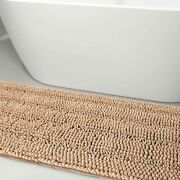Luxury Chenille Bathroom Rugs Extra Soft Bath Mat Non-slip And Absorbent Thick