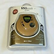 Rio Volt Sp60 Digital Music Cd Player Skip Protection Sonic Blue New In Case