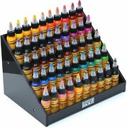Holder Ink Acrylic Display Stand Organizer For Tattoo Inks, Nail Polish Bottles