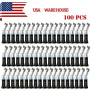 100 Nsk Style Dental Low Slow Speed Handpiece Contra Angle Latch Black Usps Ft7b