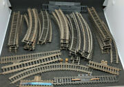 Fleischmann And Tootsie Track Mixed 60 Piece Lot. Old Vintage Ho H0 Scale