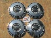 1968-74 Ford F100 Pickup Truck Econoline Van Poverty Dog Dish Hubcaps Set Of 4