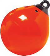 Taylor Made Products 61140 Tuff End Inflatable Vinyl Boat Buoy Orange 9...