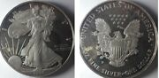 1996-p American Proof Silver Eagle One Dollar Coin