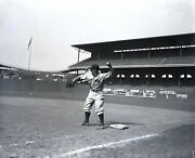 Lou Gehrig 1932 Yankees Original Glass Plate Photo Negative Crystal Clear