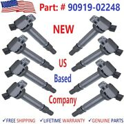 X8 New Denso Ignition Coils For Toyota Corolla 2.4l/ 3.5l 2009/2010 90919-02248