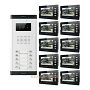 7 Wired Video Doorbell Security Intercom With Lcd Color Screen For Secure Home