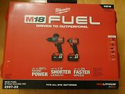 Milwaukee M18 Fuel Hammer Drill Driver And Impact Driver 2 Tool Combo Kit 2997-22