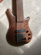 1998 Warwick Thumb Bolt On 6-string Natural Finish Excellent Condition