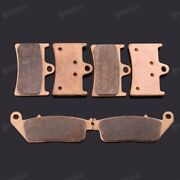 Brand New Motorcycle Front Rear Metal Brake Pads Fit For Yamaha Mt-01 2005-2006