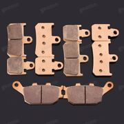 Brand New Motorcycle Front Rear Metal Brake Pads Fit For Yamaha Mt-01 2007-2010