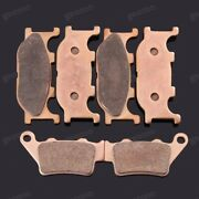 Brand New Motorcycle Front Rear Metal Brake Pads Fit For Yamaha Mt-03 2006-2012