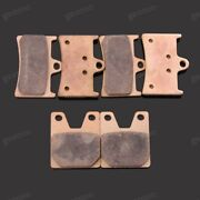 Brand New Motorcycle Front Rear Metal Brake Pads Fit For Yamaha Yzf-r1 1998-2001