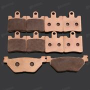 Brand New Motorcycle Front Rear Metal Brake Pads Fit For Yamaha Fjr1300a 2005-09