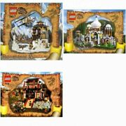 Lego Temple Of Mount Everest 7417 Scorpion Palace 7418 Dragon Fortress 7419 Set