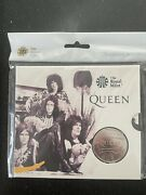 Iconic Band Queen Commemorative Five Pound Coin. Royal British Mint. New.