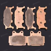 Brand New Motorcycle Front Rear Metal Brake Pads Fit For Yamaha Xjr400 1992-1997