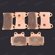 New Motorcycle Front Rear Metal Brake Pads Fit For Yamaha Xjr400 1998-2008 Fz400