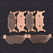 Brand New Front Rear Metal Brake Pads Fit For Yamaha Tmax500 Xp500 2001-2003