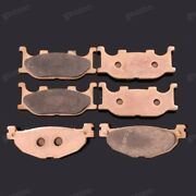 Brand New Front Rear Metal Brake Pads Fit For Yamaha Tmax500 Xp500 2004-2007