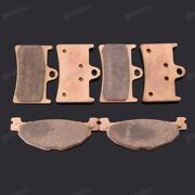 Brand New Front Rear Metal Brake Pads Fit For Yamaha Tmax500 Xp500 2008-2011