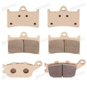 Brand New Front Rear Metal Brake Pads Fit Yamaha Yzf-r1 2004-2006 R6 2003-2016