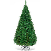Topbuy 5ft Artificial Christmas Pine Tree Hinged Pvc Branches With Solid Metal