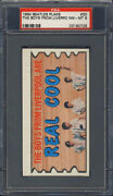 1964 Topps Beatles Plaks 30 The Boys From Liverpool Are Real Cool Psa 8